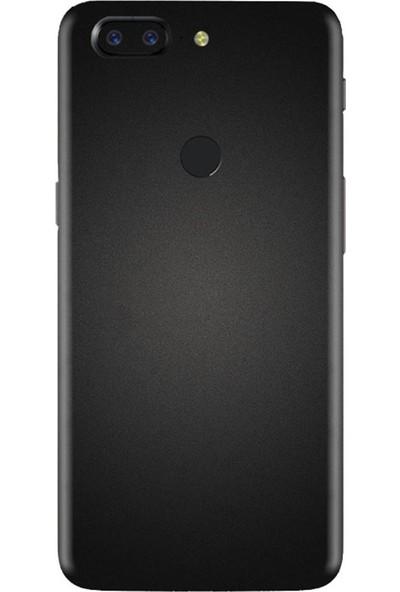 3M OnePlus 5T Matte Black Telefon Kaplama