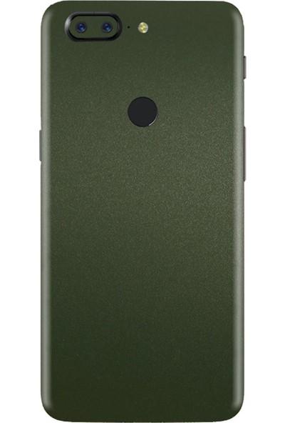 3M OnePlus 5 Matte Military Green Telefon Kaplama