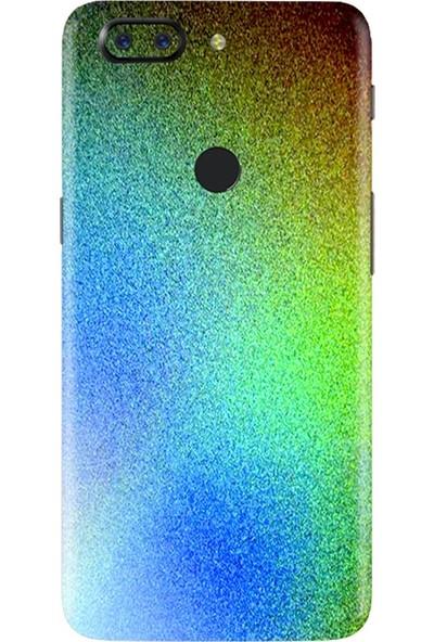 3M OnePlus 5 Gloss Flip Psychedelic Telefon Kaplama