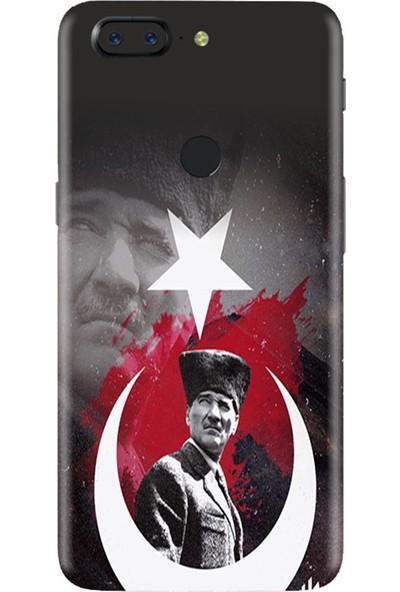 3M OnePlus 5T Atatürk Telefon Kaplama