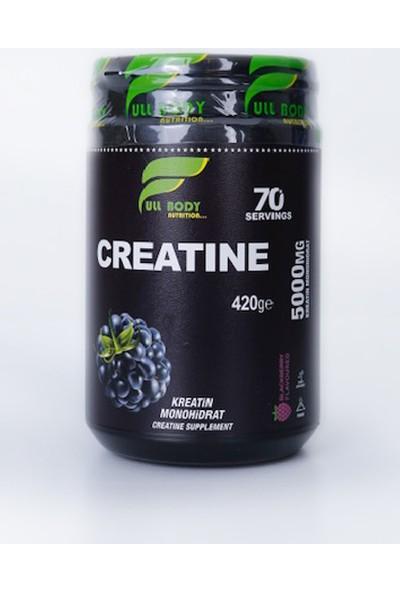 Fullbody Creatine Kreatin 420 Gr Böğürtlenli