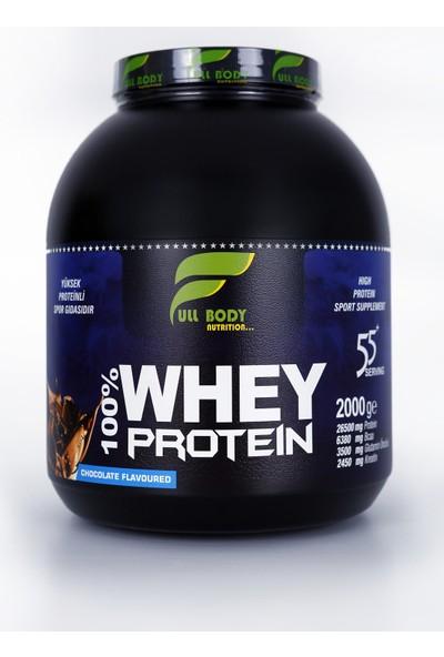 Fullbody Whey Protein 2 Kg Çikolata Aromalı + Hediye