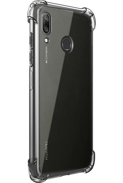 Microsonic Huawei Y7 2019 Shock Absorbing Kılıf Şeffaf