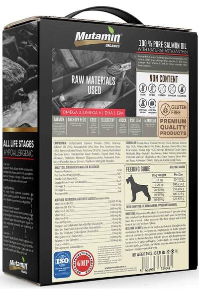 Mutamin Medium Large Düşük Tahıllı Somonlu Köpek Maması 15 Kg