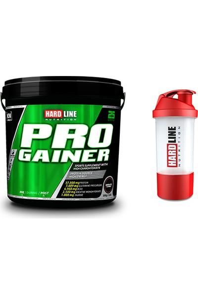 Hardline Nutrition Progainer Çikolata 5000 gr + Shaker