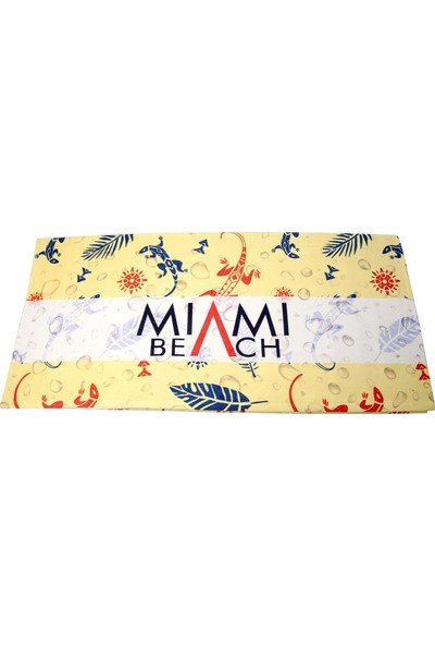 Miami Beach Plaj Erkek Havlu 380H1008