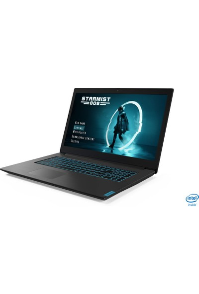 Lenovo IdeaPad L340-17IRH Intel Core i7 9750H 16GB 1TB+256GB SSD GTX1650 Freedos 17.3 FHD Taşınabilir Bilgisayar 81LL000YTX
