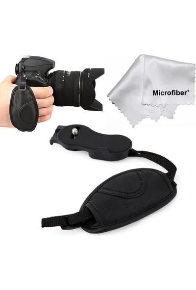 Tianya Hand Grip Strap Elcik Deri - Nikon D40 D40X D50 D60 D70 D70S D80 D90