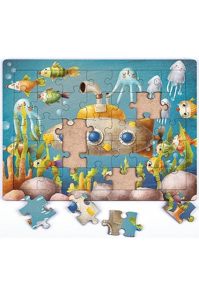 King Of Puzzle Denizaltı Ahşap Puzzle 35 Parça (Xxxv-05)