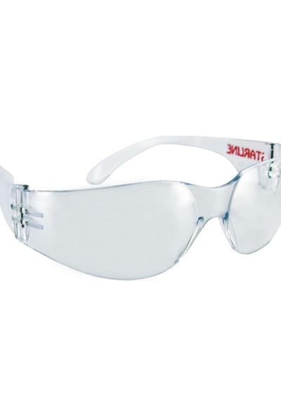 Starline G-028-C Şeffaf Spor Tip Koruyucu Gözlük
