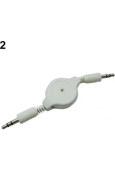 GOB2C Aux Kablosu Beyaz