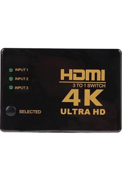 GOB2C 3'lü HDMI Adaptörü