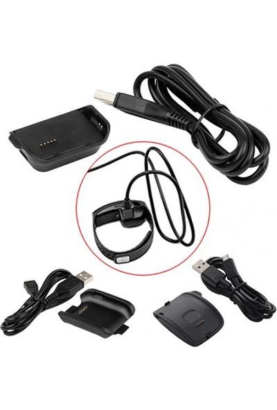 GOB2C Samsung Galaxy Gear V700 Fit R350 2 R380 R750 ve Samsung Gear SM R750 için Şarj Ünitesi
