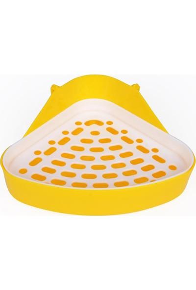 GOB2C Küçük Evcil Hayvanlar İçin Sarı Tuvalet Tepsisi