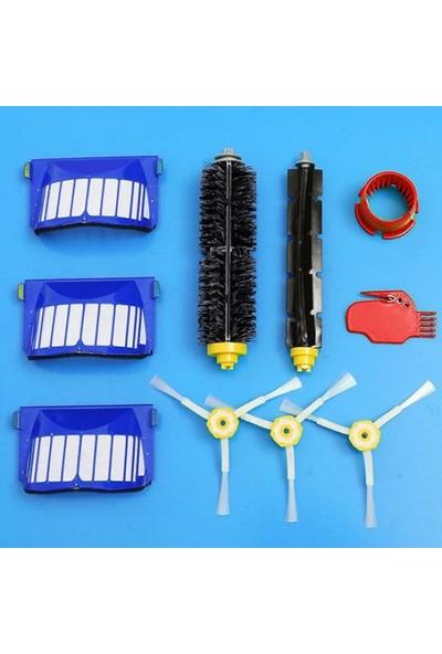 GOB2C 10 Adet Yedek iRobot Roomba Elektrikli Süpürge için Fırça Filtre Kiti