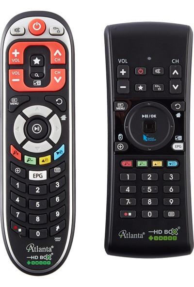 Atlanta Smart G3 Full HD Uydu Alıcısı (Akıllı Kumanda ve Wifi Adaptör Hediyeli)