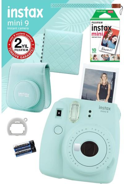 Fujifilm Instax Mini 9 Açık Mavi Fotoğraf Makinesi ve Hediye Seti 2
