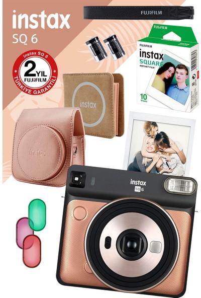 Fujifilm Instax SQ 6 Altın Fotoğraf Makinesi ve Hediye Seti