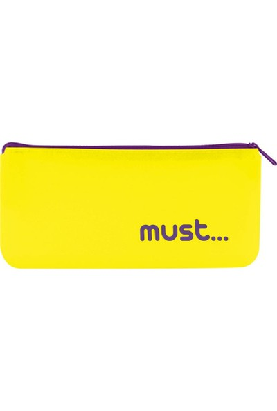 Must Silikon Kalemlik Cüzdan Sarı (0579114)