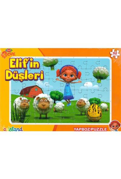 Adeland Trt Çocuk Elifin Düşleri 48 Parça Yapboz / Puzzle (3+)