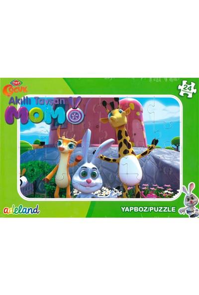 Adeland Trt Çocuk Akıllı Tavşan Momo 24 Parça Yapboz / Puzzle (3+)