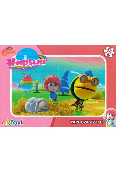 Adeland Trt Çocuk Hapşuu 24 Parça Yapboz / Puzzle (3+)