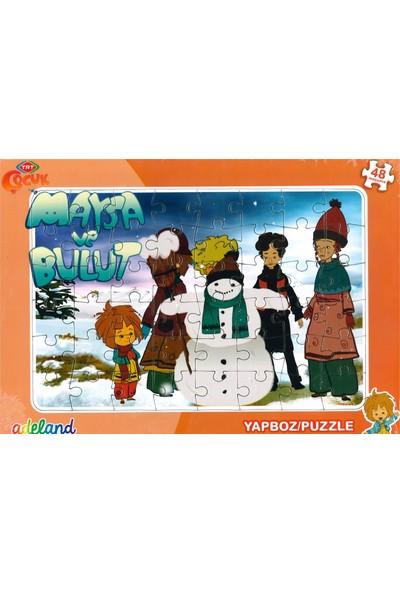 Adeland Trt Çocuk Maysa Ve Bulut 48 Parça Yapboz / Puzzle (3+)