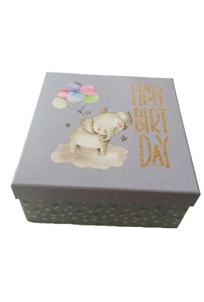 Gıpta Cali Happy Birthday Kare Hediye Kutusu
