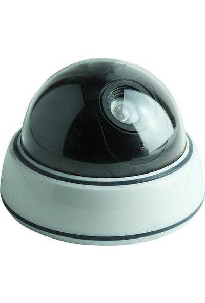 Electroon PM-2001 Kırmızı Ledli Maket Sahte Dome Kamera