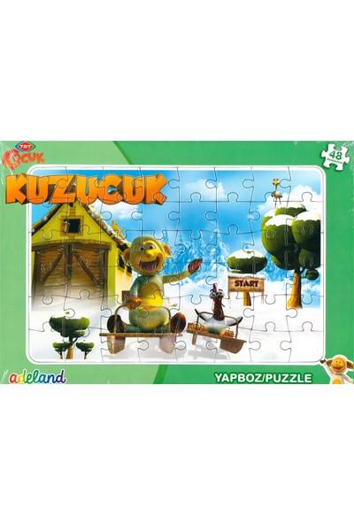 Adeland Trt Çocuk Kuzucuk 48 Parça Yapboz / Puzzle (3+)