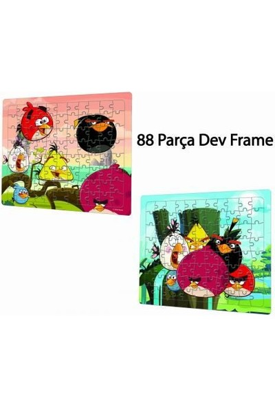 Laco Angry Bırds Puzzle 88 Parça Ang5126