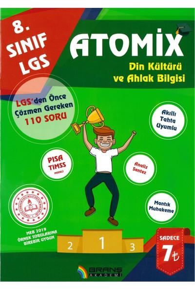 Branş Akademi 8.Sınıf Lgs Atomix Din Kültürü 11 Deneme 2019