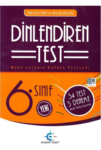 Eker Test 6. Sınıf Dinlendiren Test 2019