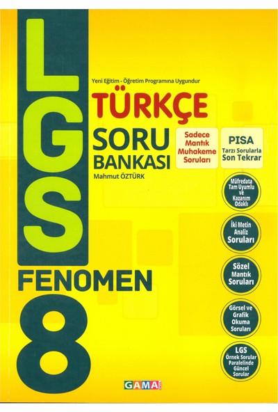 Gama 8. Sınıf ( Lgs ) Türkçe Fenomen Soru Bankası 2019