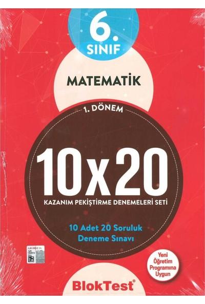 Tudem 6. Sınıf Matematik 10X20 Deneme 1. Dönem 2019