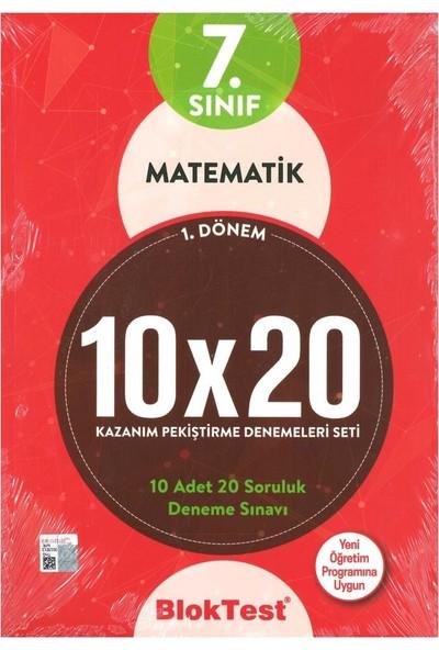 Tudem 7. Sınıf Matematik 10X20 Deneme 1. Dönem 2019