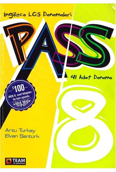 Team Pass 8. Sınıf İngilizce Deneme Sınavı 41 Li 2019