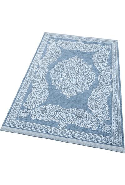 Türkmen Halı Gloria 4107 Mavi Kilim 80x150 cm