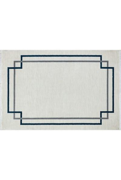 Türkmen Halı Trend 16252 Krem-Mavi160X230 cm