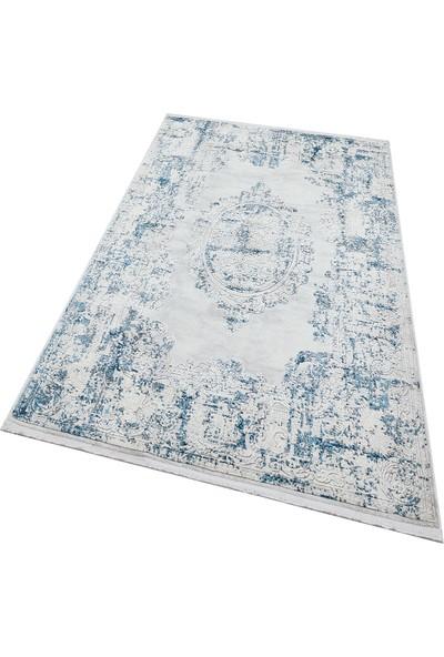 Türkmen Halı Trend 16309 Krem-Mavi160X230 cm