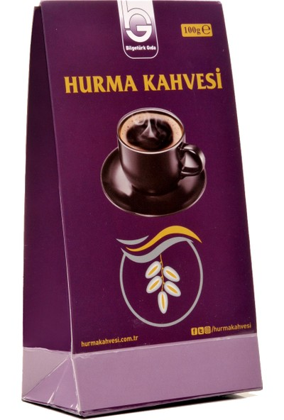 Bilgetürk Gıda Hurma Kahvesi 100 gr