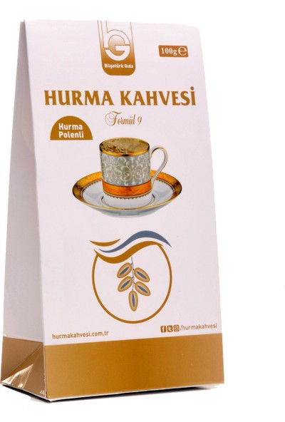 Bilgetürk Gıda Hurma Kahvesi Formul 9 100 gr
