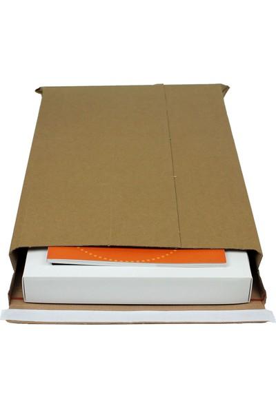 Baskısız Bant Yapıştırmalı Zarf 25,5×36,5×5 cm - 25 Adet