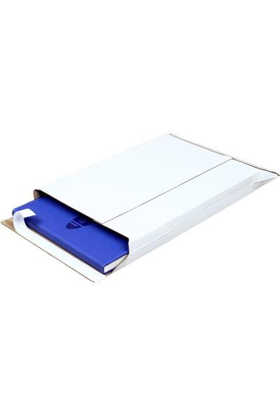 Baskısız Bant Yapıştırmalı Zarf Beyaz 22X30X3,5 cm - 25 Adet