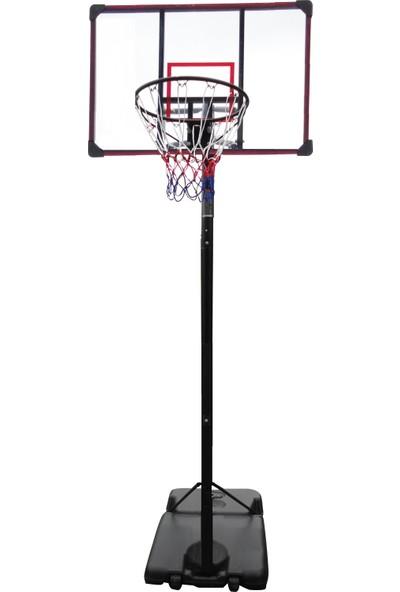 Delta Ayaklı Yükseklik Ayarlanabilir Portatif Basketbol Potası