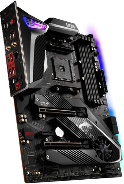 MSI MPG X570 GAMING PRO CARBON WIFI AM4 DDR4 4400 mhz (Oc) 2x M.2 USB 3.2 HDMI RGB ATX Anakart