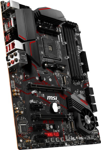 MSI MPG X570 GAMING PLUS AM4 DDR4 4400 mhz (Oc) 2x M.2 USB 3.2 HDMI RGB ATX Anakart
