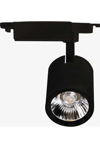 Lamptime LED Ray Spot 20W Siyah Gövde 3000K Gunışığı Işık Mercekli 283321
