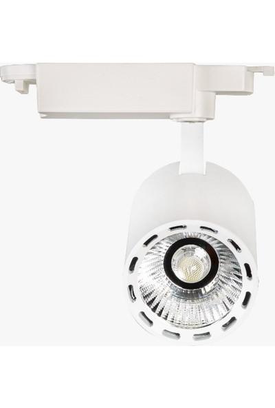 Lamptime LED Ray Spot 30W Beyaz Gövde 3000K Gunışığı Işık Mercekli 280331