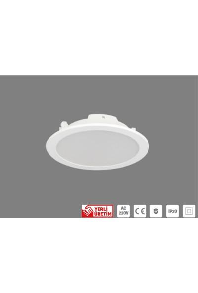 Lamptime Sıva Altı 9 W LED Spot 6500K Beyaz Işık 230653